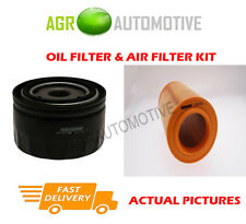 DIESEL SERVICE KIT OIL AIR FILTER FOR FIAT DUCATO 40 2.3 148 BHP 2014-