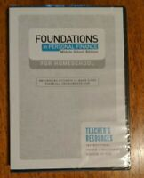Foundations in Personal Finance Middle School Edition for Homeschool DVD NEW