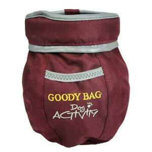 Trixie Dog Activity Walking Goody Treat Snack Bag w/ Clip, Polyester, Reflective