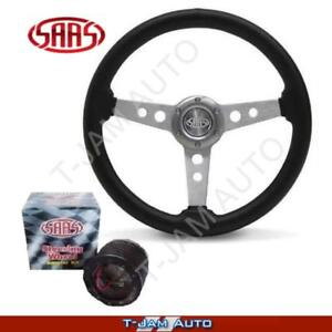 Genuine SAAS NISSAN GQ PATROL Polyurethane Steering Wheel 350mm & Boss Kit