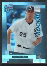 JOE BORCHARD 2002 DONRUSS BEST OF FAN CLUB #213 RC WHITE SOX SP #0289/1350