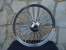 """21X2.15"""" DNA MAMMOTH FAT SPOKE FRONT WHEEL FOR HARLEY SPORTSTER DYNA NG 00-07"""
