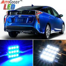 11 x Premium Blue LED Lights Interior Package Kit for Toyota Prius 04-17 + Tool