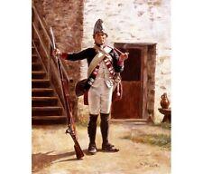 """Fusilier Hesse Cassel Erb Prinz, 1776"" Don Troiani Revolutionary War Print"