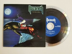 """NAZARETH 1980 ░ """"THE FOOL THE CIRCLE"""" ░ DEFINITIVE REMASTERED EDITION CD ░"""