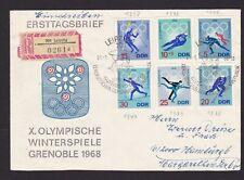 DDR ca. 100 echt gelaufene Briefe aus 577-1981 im Briefe-Album