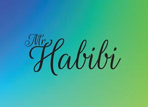 Mr Habibi Greeting Card