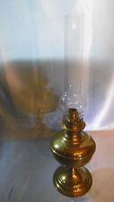 lampe a petrole en bronze vintage