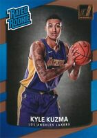 Kyle Kuzma RC 2017-18 Panini Donruss Basketball Rated Rookie Card #174 LA Lakers