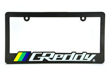 X1 JDM GREDDY Racing License Plate Frame - For HONDA CRX INTEGRA S2000 SI DC2 EG