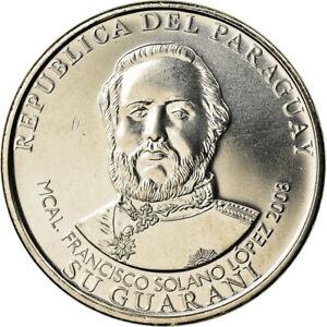 [#786130] Coin, Paraguay, MIL (1000) Guaranies, 2008, Kremnica, MS(63)