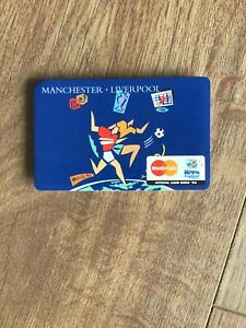 Euro 96 Official Fixture Card Manchester Old Trafford Liverpool Anfield