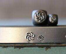 Supply Guy 5mm/3mm Swirl Burst Metal Punch Design 2 Stamp Set Sgch382381