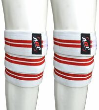 AQF Knee Wraps Peso Sollevamento Bandage cinghie Guardia Powerlifting Pad maniche palestra