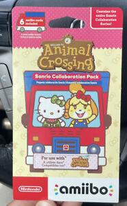 Nintendo amiibo Animal Crossing Sanrio Hello Kitty Collaboration Pack - 6 Cards