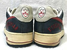 Vintage 2006 Nike Air Force 1 PREM UTT Clowns Leather, 10/44 ~ EUC