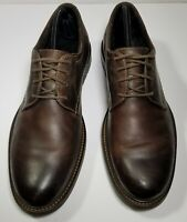 Johnston & Murphy Men's Size 10 M Brown Leather Lace Up Casual Oxford Shoes