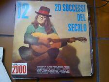 """LP 12"""" 20 SUCCESSI DEL SECOLO NIAGARA N.12 ORCH. TEEN AGERS M. BATTAINI S. MAURI"""
