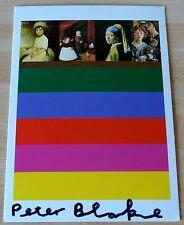 Sir Peter Blake Signed Autograph Official Postcard FINE ART BITS Galleries COA