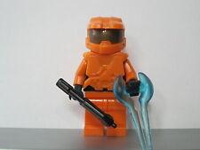 Lego HALO Orange SPARTAN MASTER CHIEF Minifig NEW
