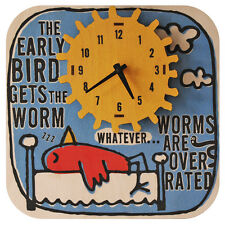 Medium Clock - 30cm - Handmade Early Bird - Perfect For Any Location