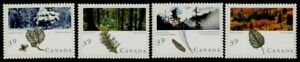 Canada 1283-6 MNH Majestic Forests, Trees