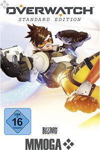 Overwatch Standard Edition - PC Game Key - Blizzard Digital Download Code EU/DE