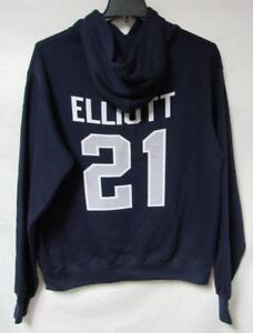 Dallas Cowboys Mens Medium Ezekiel Elliott Pullover Hoodie/Sweatshirt A1 1285