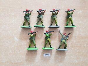 Britains Superdeetail Modern British Paratroopers 7 figures  (lot 3446)