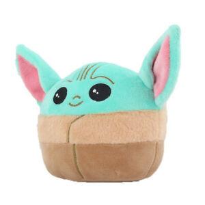 Baby Yoda Squishmallows Pillow Stuffed Soft Doll Gifts 10cm Plush Doll Kids Toys