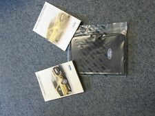 Ford Transit/Tourneo Connect Owners Handbook/Manual and Wallet