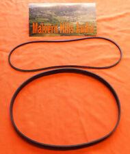 2 x Belt Set (Capstan & Counter) for The Akai  4000D 4000DB 4000DS & Mk. II