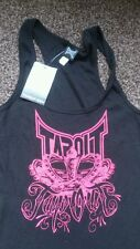 Tapout fitted summer vest tank top shirt BNWT MMA ladies S.M.L.XL ALL SIZES