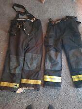 Firefighter Janesville Lion Apparel Turnout Pants Black 31 Lenght