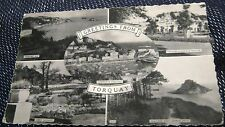 England Greetings Torquay Princess Gardens Abbey Thatcher Rock - unposted