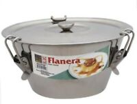 Kloc-Flan-Mold-conical Shape-Stainless-Steel.(1.5 QT).