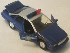 "Road Champs Police Car Chevrolet Caprice 5"" USED 1/43 Scale Nevada"