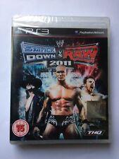 WWE SmackDown vs Raw 2011 PlayStation 3 UK 2010 New with Ps3 Tear Strip BBFC