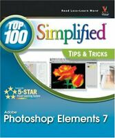 Photoshop Elements 7: Top 100 Simplified Tips and ... by Sheppard, Rob Paperback