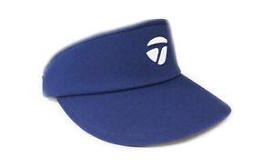 NEW TaylorMade Custom Navy High Crown Adjustable Golf Visor/Hat
