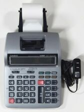 Casio Model Hr-100Tm printing calculator with Ac adapter and user's guide