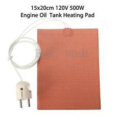"""8"""" x 6"""" 120V 500W Car Truck Engine Start Pre Oil Pan Tank Heater Pad Block"""