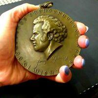 Bronze Medaille, 1928, Österreich/Wien, Franz Schubert 1797-1828 Karl Perl 90mm