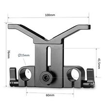 SmallRig Height-adjustable Long Lens Support For Telephoto Lens 15mm Rail System