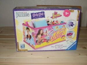 Ravensburger 3D Puzzle. Girly Girl Storage Box. *NEW*