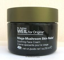 Origins Dr Weil Mega Mushroom Skin Relief Soothing Cream - 30ml - NEW  Green Lid