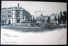 Spain~Espagne~1900's Madrid ~ Calle De Alcala