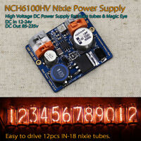 NCH6100HV High Voltage DC Power Supply for Nixie Tubes & Magic Eye DC85-235V Out