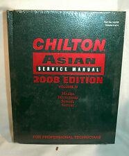 Chilton Asian Service Manual (2008) Volume 4, Mazda, Mitsubishi, Subaru, Suzuki