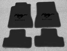 Autoteppich Fußmatten für Ford Mustang 1994'-2004' schwarz/schwarz  4tlg Neuware